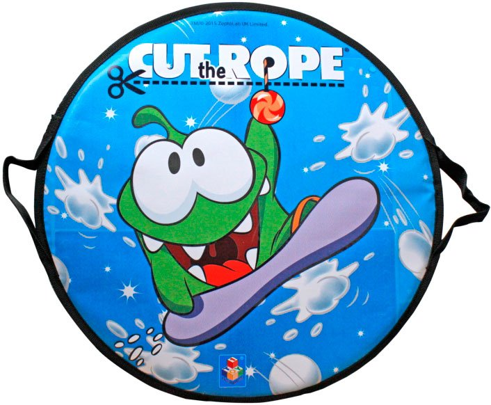 Санки-ледянка 1TOY Т58163 Cut the Rope фото