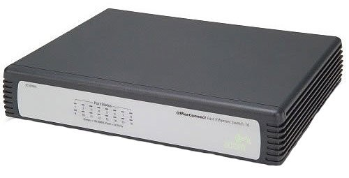 Коммутатор 3Com OfficeConnect Fast Ethernet Switch 16