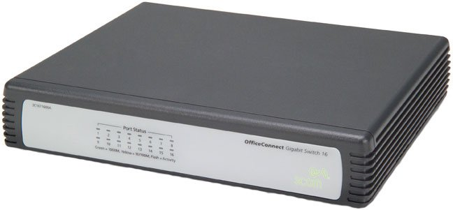 ���������� 3Com OfficeConnect Gigabit Switch 16 3C1671600A