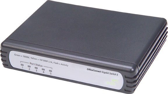 Коммутатор 3Com OfficeConnect Gigabit Switch 5