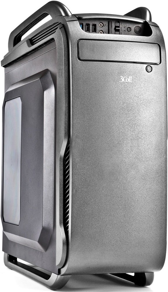 Корпус для компьютера 3Cott 3C-ATX666G Collesseum 800W Gray