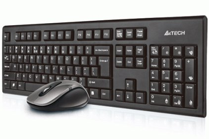 ������� A4Tech 7100H DustFree HD Mouse Wireless Desktop
