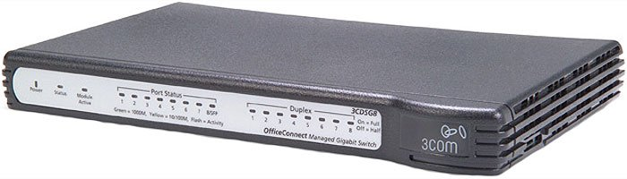 ���������� 3Com OfficeConnect Managed Gigabit Switch