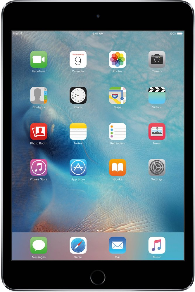 Планшет Apple iPad mini 4 with Retina 16GB 4G Space Gray