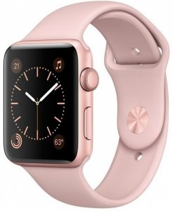 Смарт-часы Apple Watch Series 2 42mm Rose Gold with Pink Sand Sport Band (MQ142)