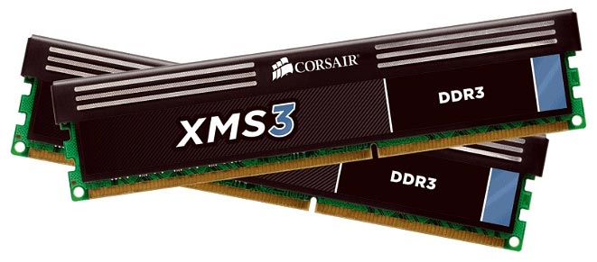 Модуль памяти Corsair XMS3 CMX8GX3M2A1600C9 DDR3 PC3-12800 2x4Gb
