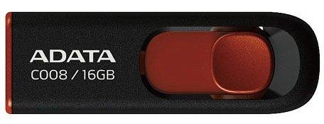USB-флэш накопитель A-Data Classic C008 16Gb (AC008-16G-RKD)