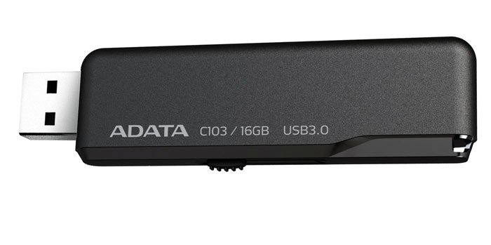 USB-флэш накопитель A-Data Classic Series C103 16Gb (AC103-16G-RBK)