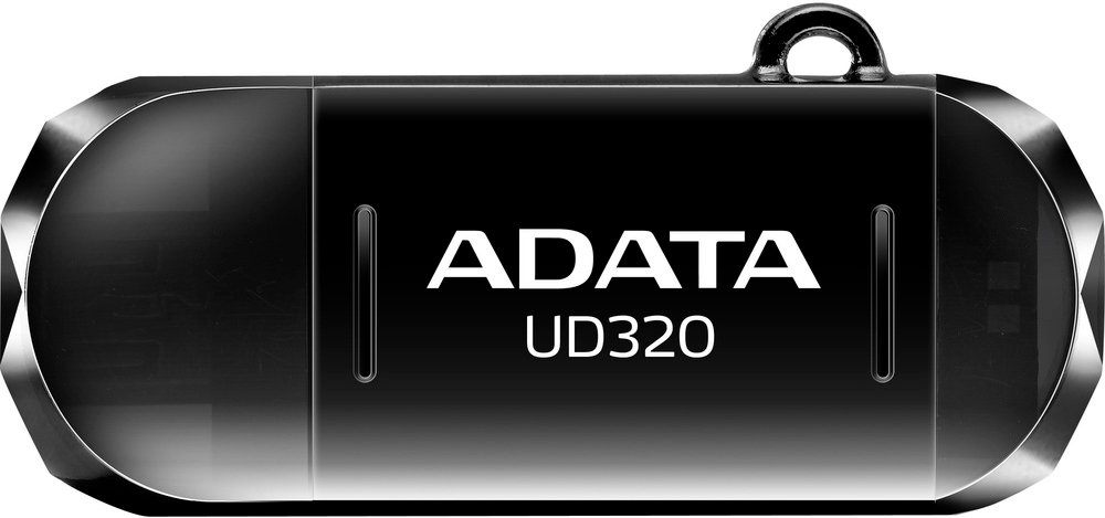 USB-флэш накопитель A-Data DashDrive Durable UD320 16GB (AUD320-16G-RBK) фото