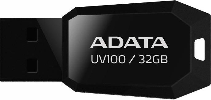 USB-флэш накопитель A-Data DashDrive UV100 32GB (AUV100-32G-RBK) фото