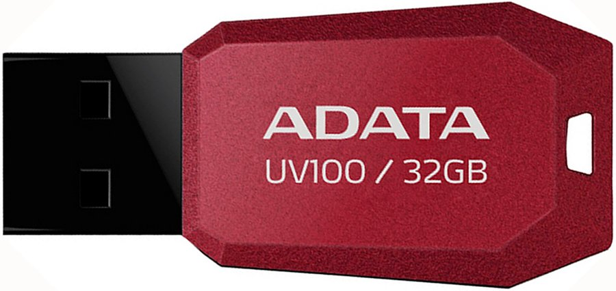 USB-флэш накопитель A-Data DashDrive UV100 32GB (AUV100-32G-RRD)