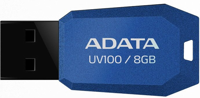 USB-флэш накопитель A-Data DashDrive UV100 8GB (AUV100-8G-RBL)