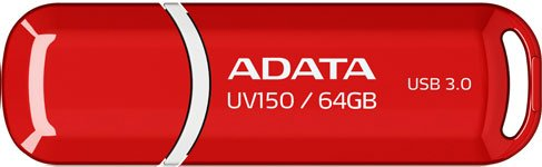 USB-флэш накопитель A-Data DashDrive UV150 64GB (AUV150-64G-RRD)
