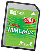 Карта памяти A-Data MMC Turbo plus 200x 1GB