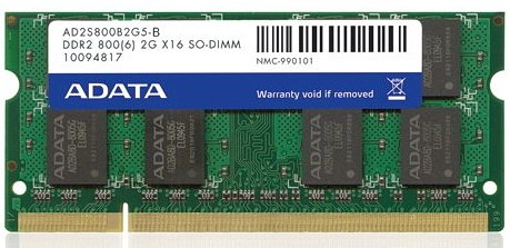 ������ ������ A-Data Premier AD2S800B2G5-B DDR2 PC2-6400 2GB