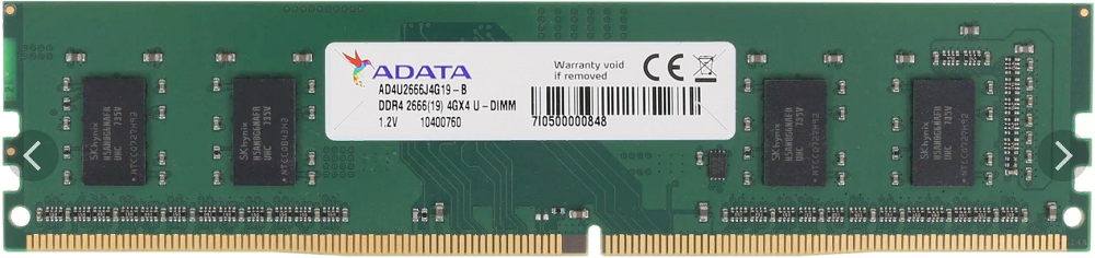 Модуль памяти A-Data Premier AD4U2666J4G19-B DDR4 PC4-21300 4Gb фото