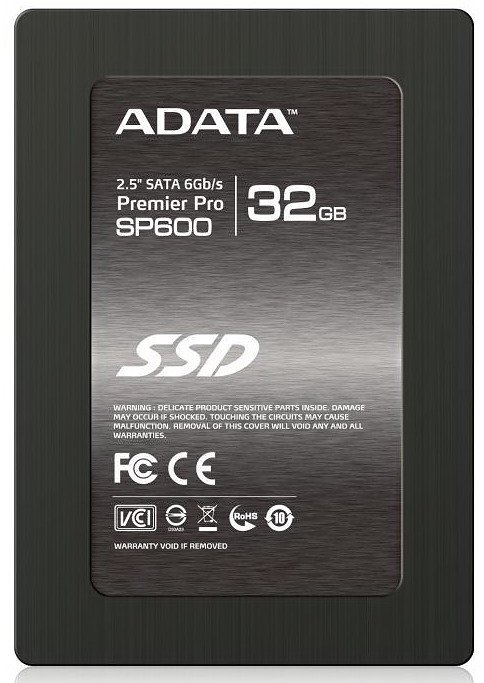 Жесткий диск SSD A-Data Premier Pro SP600 (ASP600S3-32GM-C) 32 Gb