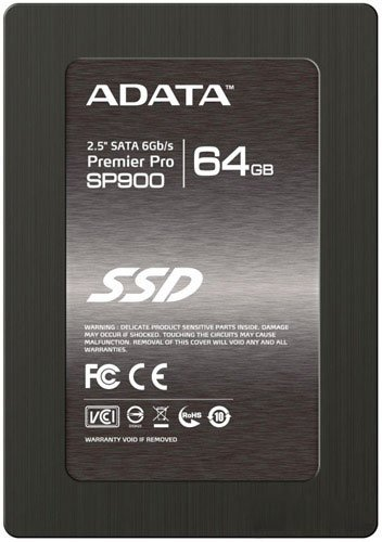 Жесткий диск SSD A-Data Premier Pro SP600 (ASP600S3-64GM-C) 64 Gb