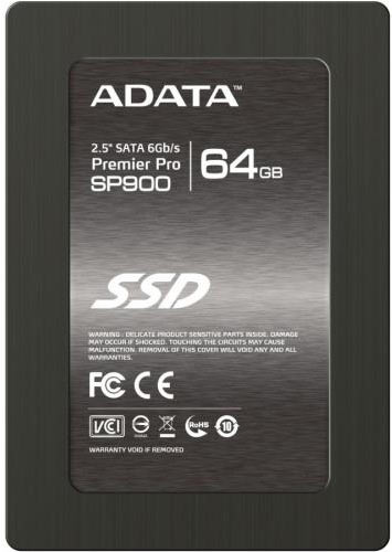 Жесткий диск SSD A-Data Premier Pro SP900 (ASP900S3-64GM-C) 64 Gb