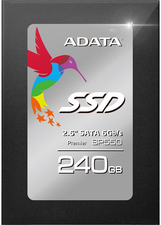 Жесткий диск SSD A-Data Premier SP550 (ASP550SS3-240GM-C) 240Gb