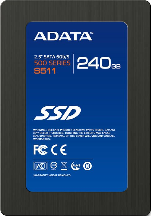 Жесткий диск A-Data S511 (AS511S3-240GM-C) 240 Gb