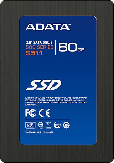 ������� ���� A-Data S511 AS511S3-60GM-C 60 Gb