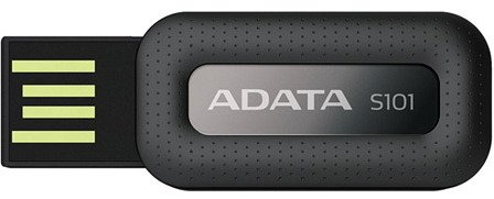 USB-���� ���������� A-Data Superior S101 16GB (AS101-16G-RBK)