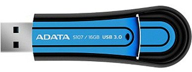 USB-���� ���������� A-Data Superior S107 16GB (AS107-16G-RBL)