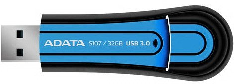 USB-флэш накопитель A-Data Superior S107 32GB (AS107-32G-RBL)