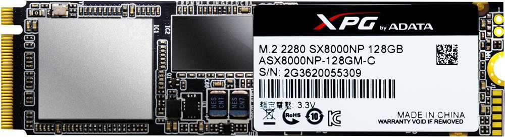 Жесткий диск SSD A-Data XPG SX8000 (ASX8000NPC-128GM-C) 128Gb фото