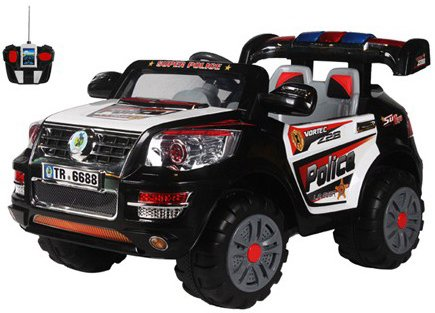 ������� ������������� Electric Toys VW TUAREG POLICE