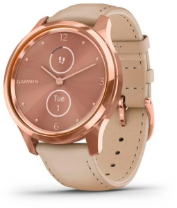 Гибридные смарт-часы Garmin Vivomove Luxe Rose Gold/Light Sand icon