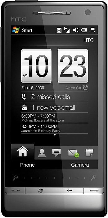 ��������� ������� HTC Touch Diamond2