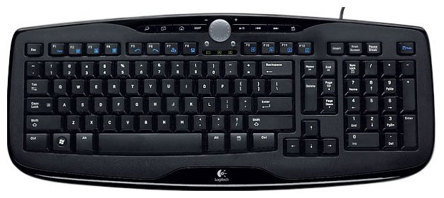 Клавиатура Logitech Media Keyboard 600