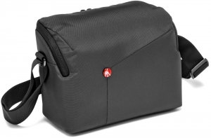 Сумка для фотоаппарата Manfrotto NX Shoulder Bag DSLR Grey (MB NX-SB-IIGY) фото