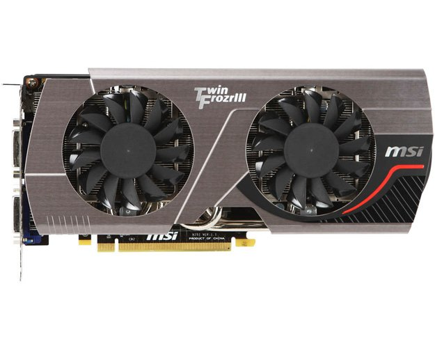 Видеокарта MSI N570GTX Twin Frozr III Power Edition/OC GeForce GTX570 1280Mb GDDR5 320bit