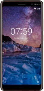 Nokia 7 plus Black фото