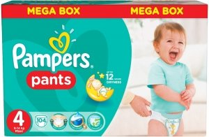 Трусики Pampers Pants 4 Maxi (9-14 кг) 104 шт