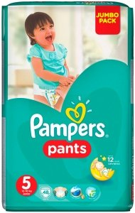 Трусики Pampers Pants 5 Junior (12-18 кг) 48 шт