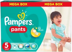 Трусики Pampers Pants 5 Junior (12-18 кг) 96 шт