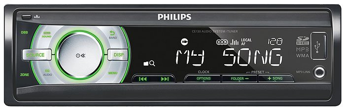 Автомагнитола Philips CE130