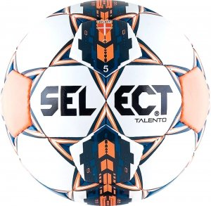 Мяч футбольный Select Talento 5 white/orange