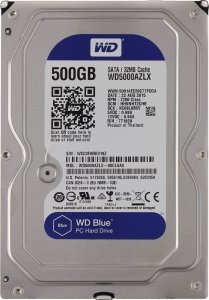 Жесткий диск Western Digital Blue (WD5000AZLX) 500Gb фото