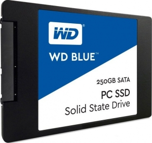 Жесткий диск SSD Western Digital Blue (WDS250G1B0A) 250Gb