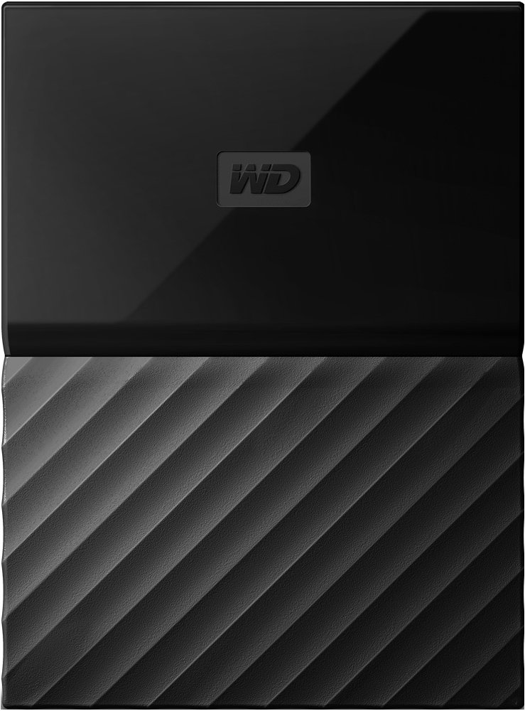 Внешний жесткий диск Western Digital My Passport (WDBBEX0010BBK) 1000 Gb