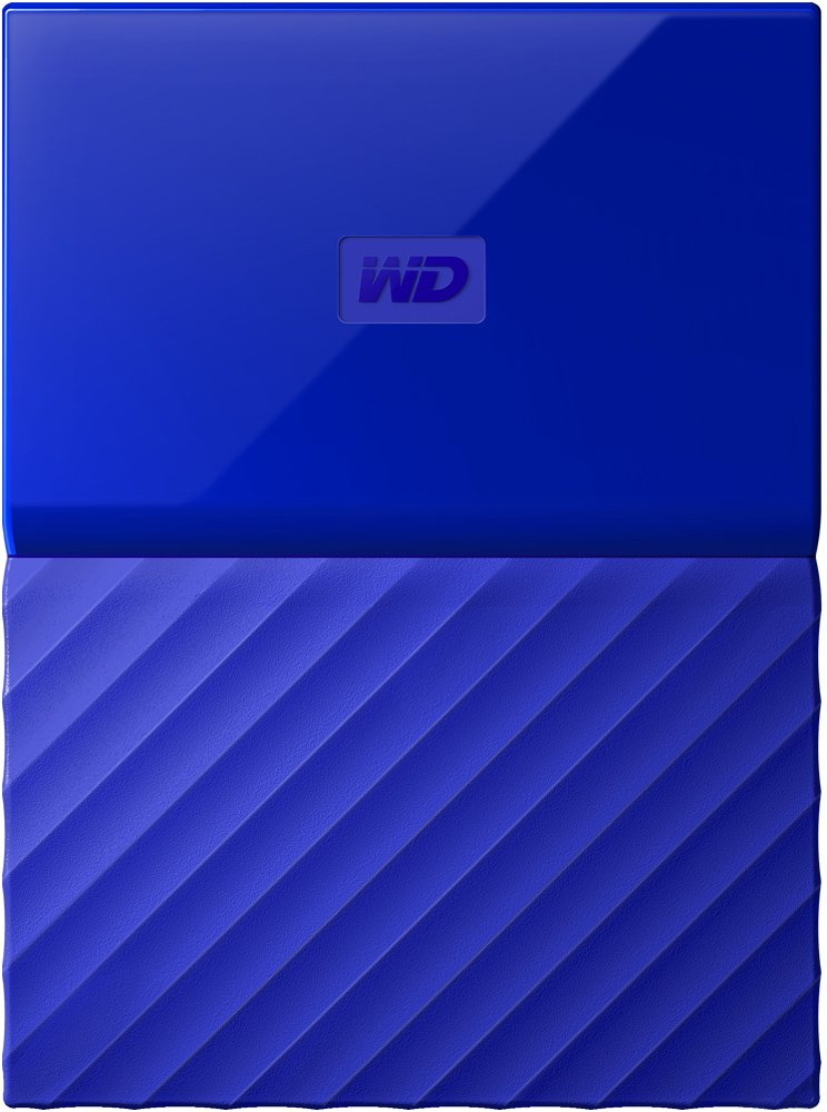 Внешний жесткий диск Western Digital My Passport (WDBBEX0010BBL) 1000 Gb