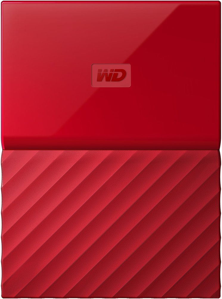Внешний жесткий диск Western Digital My Passport (WDBBEX0010BRD) 1000 Gb
