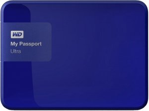 Внешний жесткий диск Western Digital My Passport Ultra (WDBDDE0010BBL) 1000 Gb