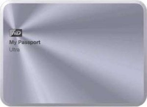 Внешний жесткий диск Western Digital My Passport Ultra Metal Silver (WDBEZW0030BSL) 3000Gb