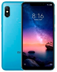 Смартфон Xiaomi Redmi Note 6 Pro 4Gb/64Gb Blue (Global Version)